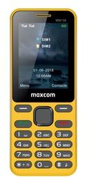 Maxcom MM 139 Dual Sim Yellow