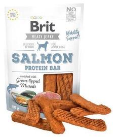 Brit Jerky Salmon Protein Bar skanėstas 80g