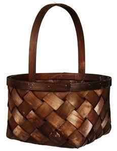 Verners Wood Basket 27x34