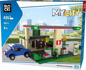 Blocki MyCity Petrol Station 435pcs KB0212