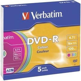 Комплект дисков Verbatim 43557, 4.7 GB