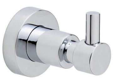 Tesa Loxx Bathroom Wall Hook 40277 Chrome