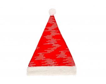 Cepure zsv santa sarkana ar sudrab.līn.
