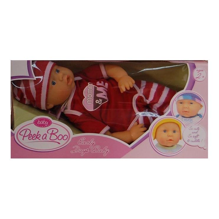 Lėlė Peek A Boo Baby 40cm 15330