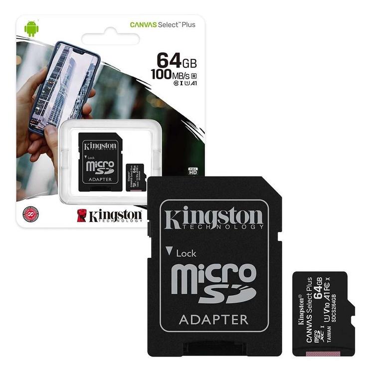 Mälukaart Kingston SDCS2/64GB, 64 GB