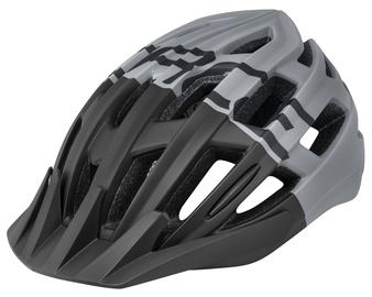 Шлем Force Corella MTB F902978, черный/серый, L/XL, 570 - 610 мм