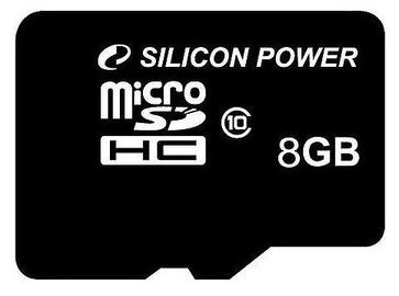 Mälukaart Silicon Power, 8 GB