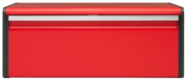 Brabantia Bread Box Fall Front Passion Red