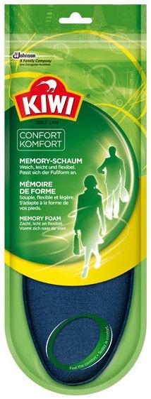 Kiwi Memory Foam Insoles 40-41