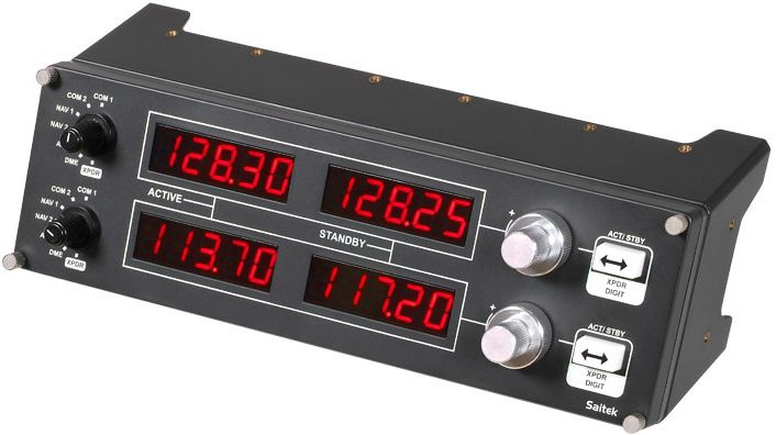 Saitek PZ69 Pro Flight Radio Panel