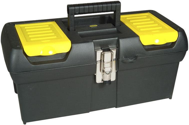 "Stanley Metal Latch Tool Box 12.5"""