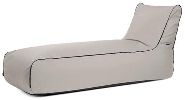 Кресло-мешок Pušku Pušku, серебристый