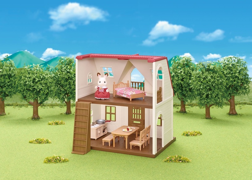 Epoch Sylvanian Families Red Roof Cosy Cottage 5303