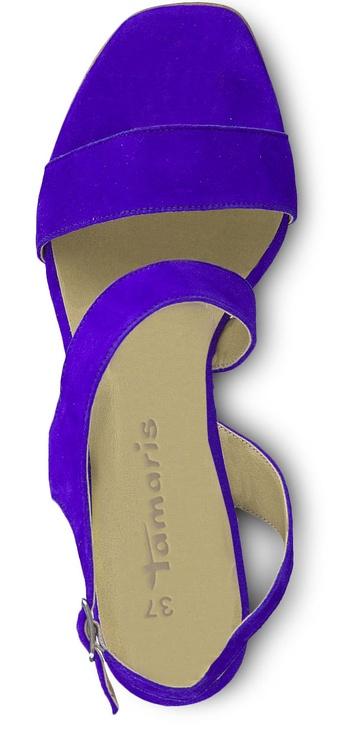 Tamaris Pam Healed Sandal 1-1-28385-22 Royal 36