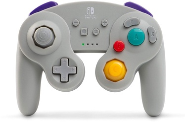 PowerA Wireless Officially Licensed GameCube Style Controller Grey