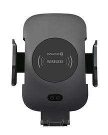 Telefona turētājs Evelatus Wireless Charger Car Holder Black WCH01