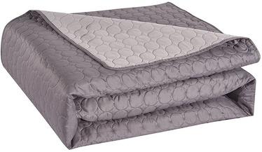 DecoKing Salice Bedcover Steel/Silver 240x260