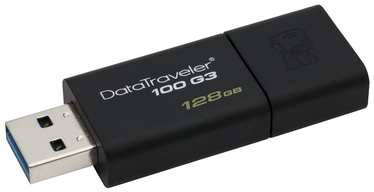 USB atmintinė Kingston DT100G3, USB 3.0, 128 GB