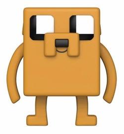 Фигурка-игрушка Funko Pop! Animation Adventure Time x Minecraft Jake 412