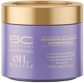 Kaukė plaukams Schwarzkopf BC Bonacure Oil Miracle Barbary Fig&Keratin Mask, 150 ml