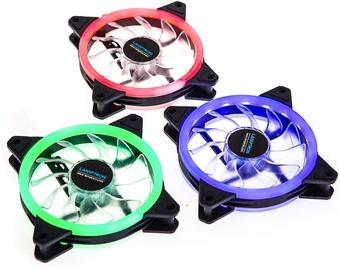 Lamptron Nova Music RGB LED Fan Set of 3 With Controller