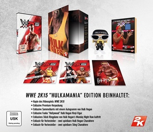 WWE 2K15 Hulkamania Collector's Edition Xbox One