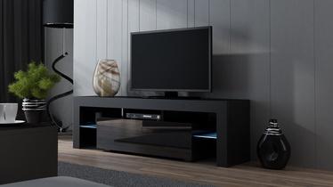 TV galds Pro Meble Milano 160 Black, 1600x350x450 mm