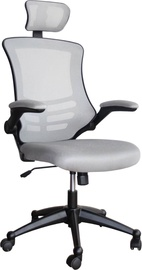Home4you Office Chair Ragusa Gray 27718