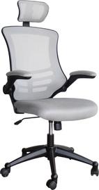 Biroja krēsls Home4you Ragusa 27718 Grey