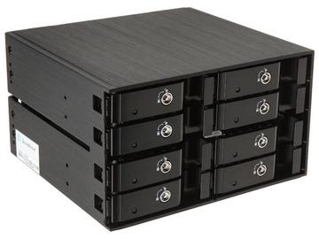 "SilverStone Hot Swap Case FS208 2x 5.25"" For 8x 2.5"" HDD/SSD"