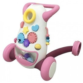 Childrens Four Wheeled Balance Scooter Pink