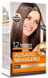 Kativa Natural Brazilian Straightening 6pcs Set 225ml