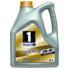 Mobil 1 FS 0W40 Synthetic Oil 4l