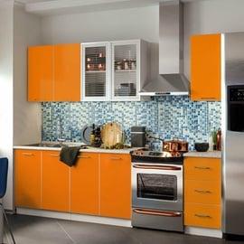 MN Fortune Kitchen Unit 1.7m Mango