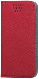 "GreenGo Universal Smart Book Case 5.5-5.7"" Red"