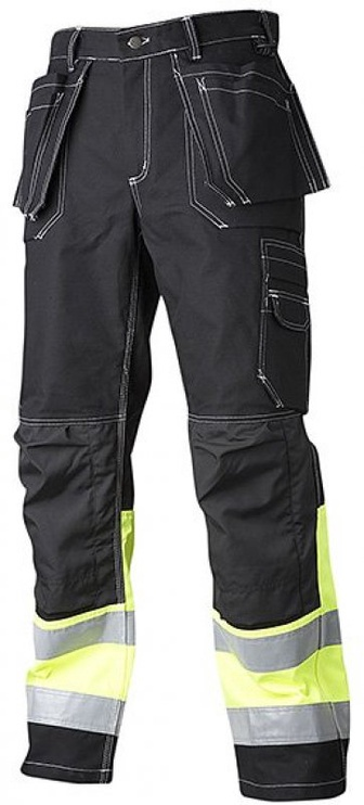 Top Swede Work Trousers Black 50