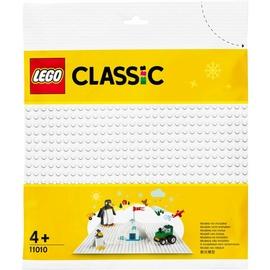 Balts pamats LEGO Classic White Baseplate 11010