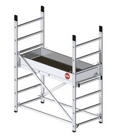 Aliuminio mobilūs pastoliai Hailo ProfiStep multi 9900-101,  1 m