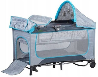 EcoToys Tourist Cradle Premium Gray/Blue