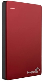 "Seagate 2.5"" Backup Plus Slim 2TB USB 3.0 Red STDR2000303 (ATNAUJINTA)"