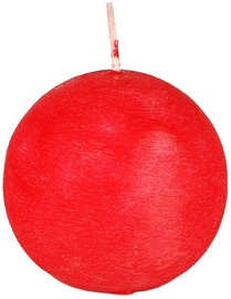 Papstar Ball Candle Red