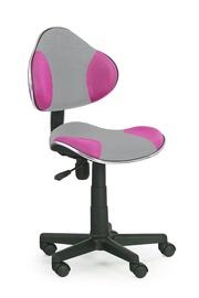 Vaikiška kėdė Flash 2, pilka/rožinė