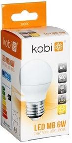 Kobi MiniBall LED Bulb 6W/3000K E27 045382