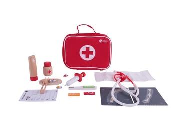 Žaislinis medicinos rinkinys, 54419 medinis