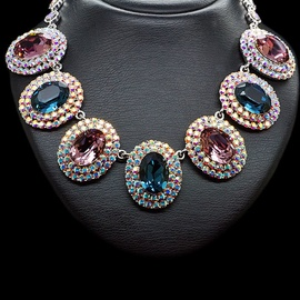 Diamond Sky Necklace Empress With Swarovski Crystals