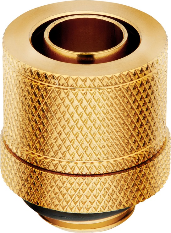 Corsair Hydro X Series XF Compression 10/13mm ID/OD Fitting Four Pack Gold