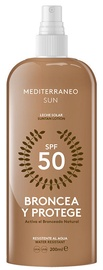 Mediterraneo Sun Bronzing & Protection Suntan Lotion SPF50 200ml