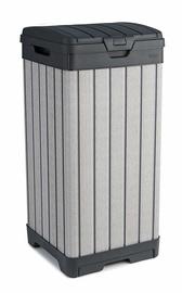 Keter Rockford Waste Bin 125l Grey