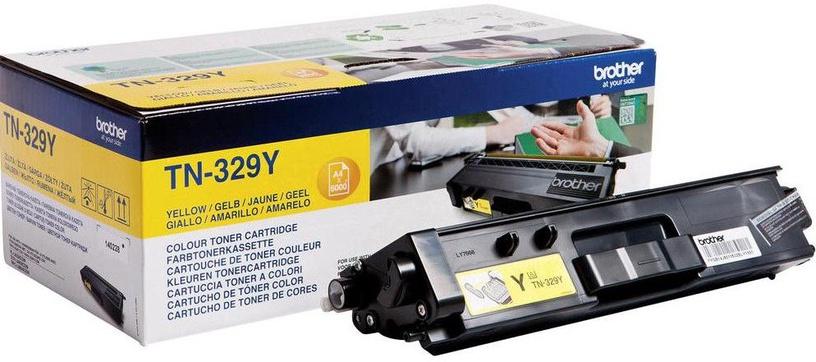 Lazerinio spausdintuvo kasetė Brother TN-329Y Yellow