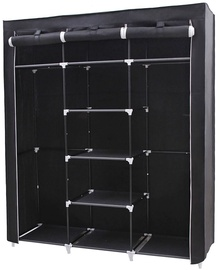 Songmics Wardrobe Black 150x45x175cm